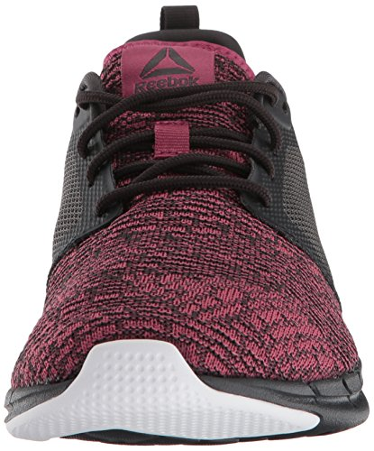 Para Reebok Mujeres Berry Shoe Bajos Medios coal white Zapatos 3 Print Cordon Run Correr amp; 0 Talla Twisted PPdrqZ