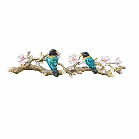 Amazon.com: Creative Retro Bird ganchos de pared gancho para ...