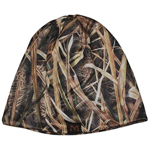 Top of the World NCAA Mossy Oak Camo Reversible Beanie Hat Cap-Michigan Wolverines - Michigan Wolverines Camo