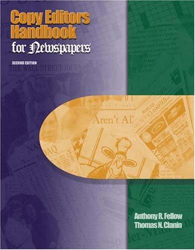 Copy Editor's Handbook for Newspapers