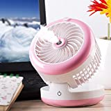 KTYX Spray Humidity Cooler Fan Mini USB Rechargeable Portable Small Air Conditioner fan