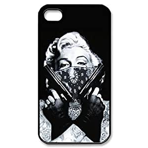 marilyn monroe Hard Cover Case for iPhone 5 5s case -black CASE