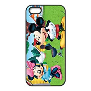 SANLSI Mickey mouse Case Cover For iPhone 5S Case