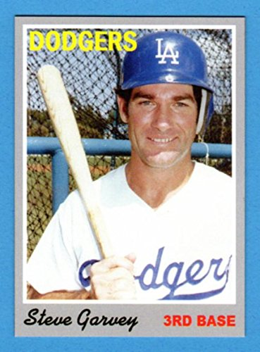 Steve Garvey 1970 Topps Style Rookie Baseball Card What If Card