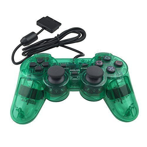 Dotop-PS2-Wired-Controller-for-Sony-PlayStation-2-Green