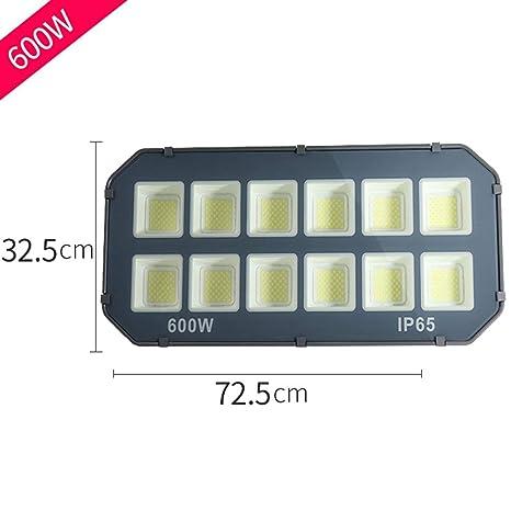 600W Foco Proyector LED Exterior, IP66 A Prueba de Agua Exterior ...