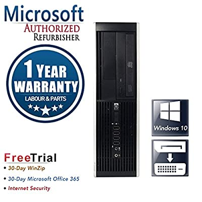 HP Elite 8200 Small Form Business High Performance Desktop(Intel Core I5-2400 3.1G Quad Core,8G DDR3,1TB HDD,DVD,DPtoDVI Cable to connect dual monitors,Windows 10 Professional 64) (Certified Refurb)