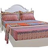 Brandream 100% Cotton King Size Sheets Set Deep Pocket Luxury Boho Bedding Sale Designer Bohemian Style Bedding Sheets Set