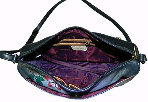 Anuschka , Sac pour femme à porter à l'épaule multicolore multicolore 32 cm x 8 cm 11 cm