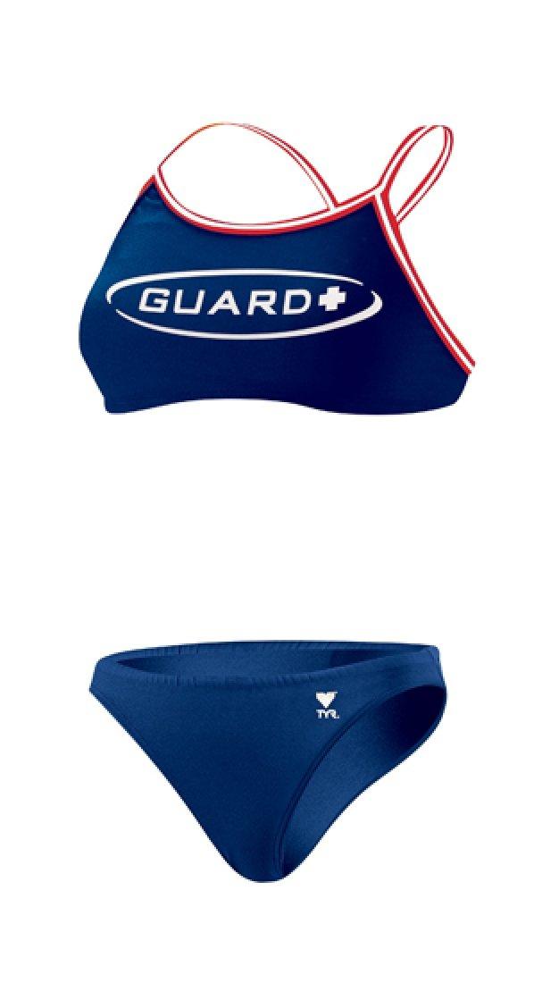 TYR Guard ダイマックスバック ワークアウトビキニ B001F2AL4M X-Large|ネイビー