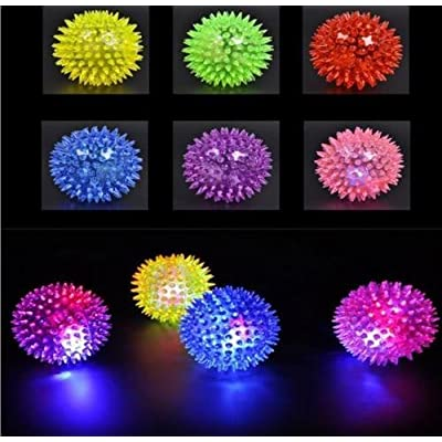 Legends Collector Mini Flashing Light-Up Spiky Balls (12 pcs): Toys & Games