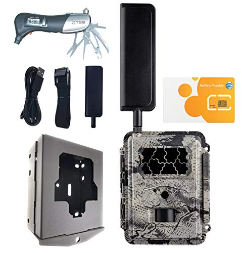 Spartan GoCam at&T 4G/LTE (Blackout Flash) Bundle with Security Box and TSB Muti-Tool Bundle Deal