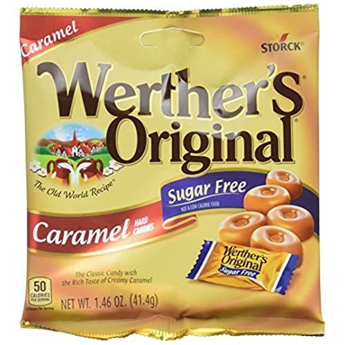 Diabetic candy amazon werthers original sugar free caramel hard candy 146 ounce pack of 12 packaging may vary negle Image collections