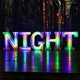 WARMTHOU Neon Letter Lights 26 Alphabet Letter Bar