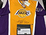 Kobe Bryant Autographed Signed LE Lakers Authentic Mitchell & Ness Shooting Shirt Inscribed 97 Dunk Champ Panini COA & Hologram