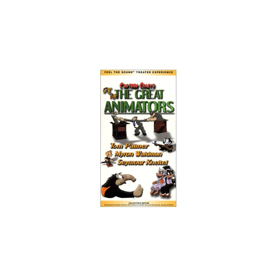 Cartoon Crazys   The Great Animators [VHS]