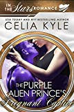 The Purple Alien Prince's Pregnant Captive (Scifi Alien Secret Baby Romance)