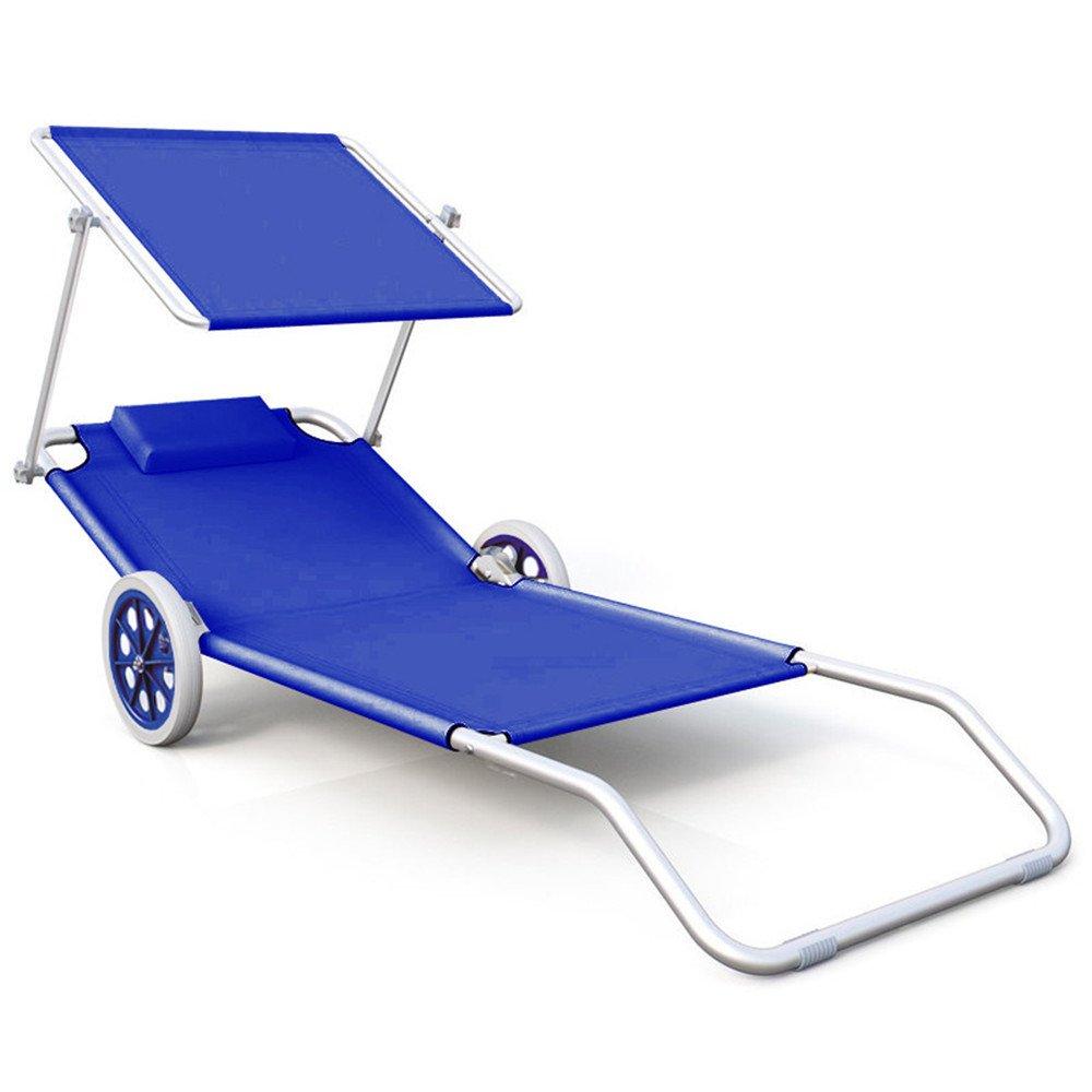 MCTECH pieghevole da spiaggia tempo libero sedia a sdraio Campeggio Sedia sdraio da sedia a dondolo sedia da Regista