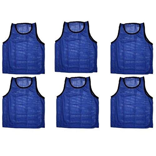 Scrimmage Training Vests Soccer Bibs Adult Set of 12 (Football Scrimmage Vests)