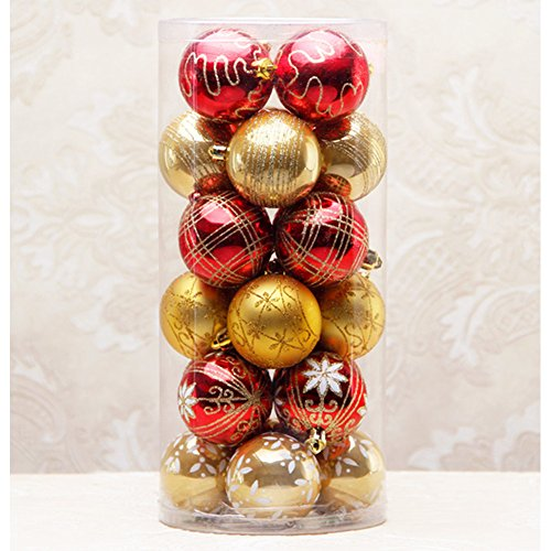 Red and Gold Christmas Tree Decorations: Amazon.com