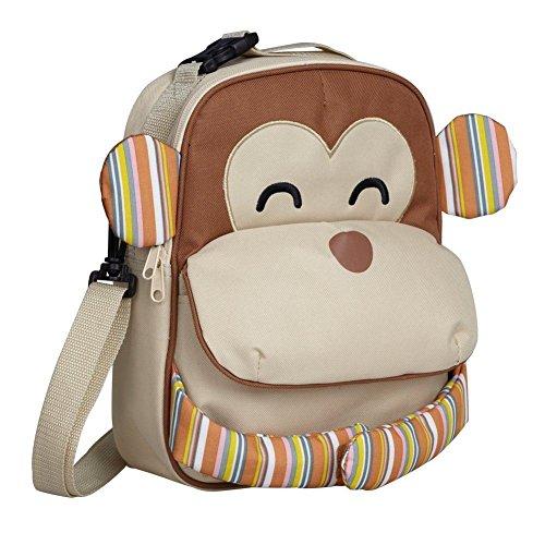 Multifunctional Kids Backpack Cooler School Monkey Naughty bag Cool Rucksack Preschool Animal Way 3 Bag 3 Toddler Lunchbox Babyhugs Monkey Lunch Naughty Way Yq6dYB8