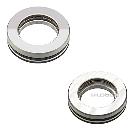 WildBee Steering Stem Head Bearing Compatible with DT250 1974-1979 1974 TY80 TRIALS 1974-1975 MX125 1974-1976 DT125 1974-1981 IT125 1980-1981 YZ125 1974-1976 XT125 1982-1983