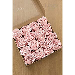 Ling's moment Real Looking Fake Peony Artificial Peonies Flowers w/Stem for DIY Wedding Bouquets Centerpieces Arrangements Party Baby Shower Home Decorations 2