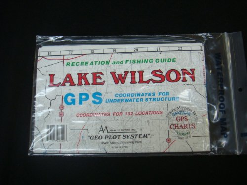 Lake Wilson, Alabama GPS CHARTS AND ABOVE WATER AND UNDERWATER TOPOGRAPHY. by Atlantic Mapping, Inc.