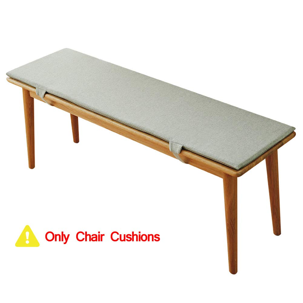 Homranger Patio Bench Cushion Solid Wood Bench Indoor Outdoor Bench Anti Slip Seat Pad With Ties For Swing Bench Glider A 100x35x2cm 39x13x1inch Buy Online In China At China Desertcart Com Productid 165591574