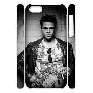 D-PAFD Diy 3D Case Brad Pitt for iPhone 5C