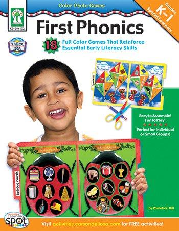 First Color Photo (Carson Dellosa Color Photo Games First Phonics)