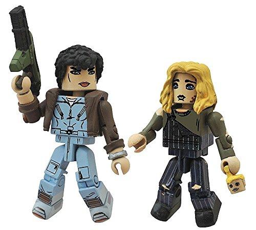 """Aliens Minimates Series 2 Jumpsuit Ripley & Newt 2"""" Minifigure 2-Pack"""