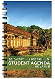 2016-2017 Advance Life Skills Student Planner (5.25 x 8.5 inches) August 2016 - July 2017 Academic Agenda Full Color Organizer - Recommended [Grades 9th - College]