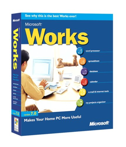 Software Microsoft Works 7