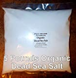 Dead Sea Salt Fine Grind Food Grade -10 FULL POUNDS! -No shelf life limit - STOCK UP!