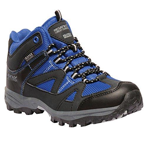 Gris randonnée Enfant Unisexe Great Chaussures Gatlin Regatta Outdoors Cendre de Bleu OFCzwqU