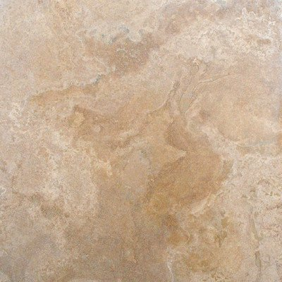 "12"" x 12"" Tumbled Travertine Tile in Tuscany Classic"