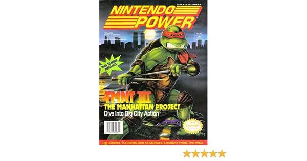 Nintendo Power Volume 33 TMNT III: Various: Amazon.com: Books