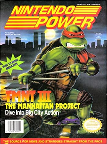 Nintendo Power Volume 33 TMNT III: Various: Amazon.com: Books