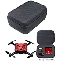 Protective Case for Kidcia, EACHINE E55, FQ777 FQ17W, Hobbylane Altitude Hold Folding Drone, RC Quadcopter Drone with FPV Camera and Live Video, DIY Foam Blocks (Black)