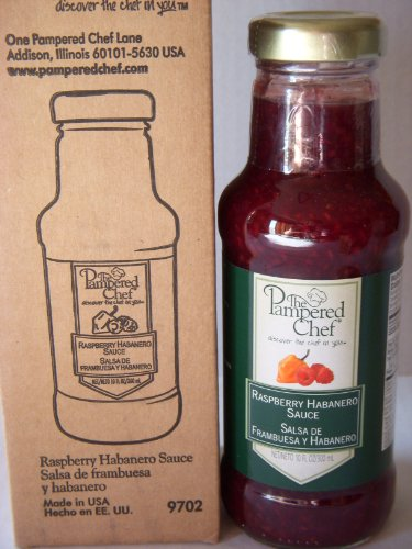 (Pampered Chef Raspberry Habanero Sauce)