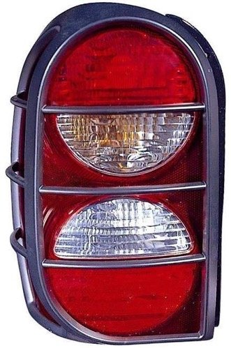 Passenger Right Side 5KJ40RXFAE CH2801160 Replacement for 2005-2006 Jeep Liberty Rear Tail Light Lamp Assembly // Lens // Cover Go-Parts
