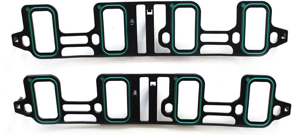 OCPTY Intake Manifold Gasket Sets for Cadillac Escalade//Chevrolet Avalanche//GMC Savana 2500 3500// Hummer H2 6.2L 07-16 Intake Manifold Gasket Kit Set