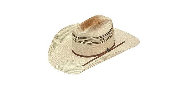 ef1d204dc9e31c ARIAT Men's Bangora Golden Brown Hatband Hat, Ivory, Tan, 6 3/4 at Amazon  Men's Clothing store: