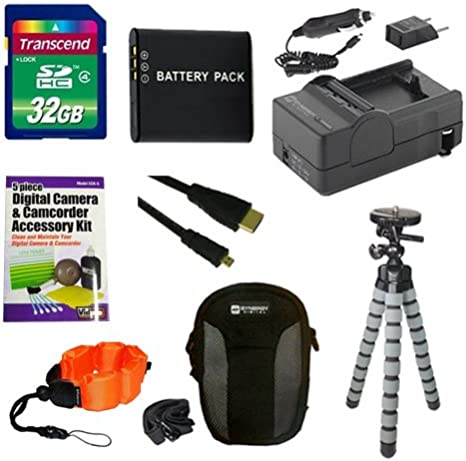 Syenrgy Digital Camera Accessory Kit Works with Ricoh WG-4 Digital Camera includes SDDLi92 Battery ZE-FS10-OR Underwater Accessories SDM-192 Charger
