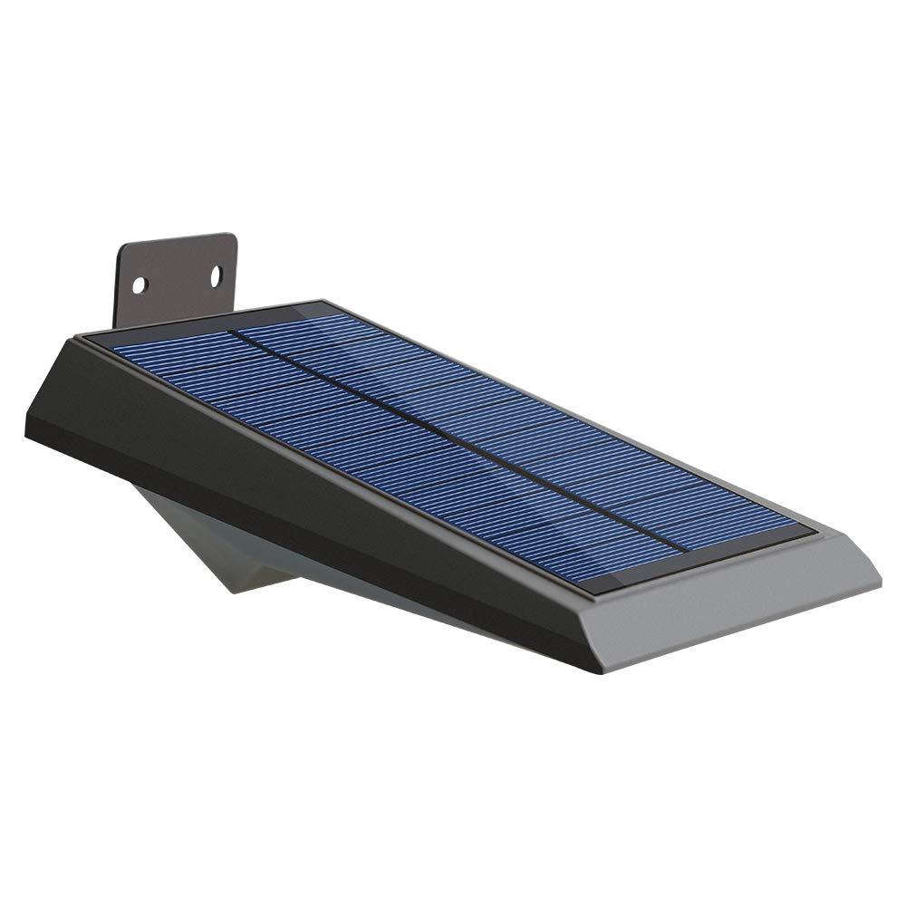 Falove Solar Lights 18 LED Outdoor Solar Gutter Motion Sensor Detector Lights Security Lighting with Dusk to Dawn Auto On/Off for Barn Porch Garage (1 Pack)