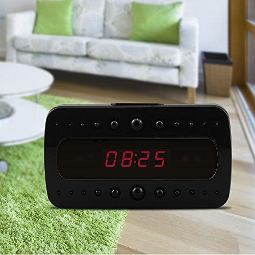 Eyeclub Hidden Camera, Wireless Spy Camera Alarm Clock -9389