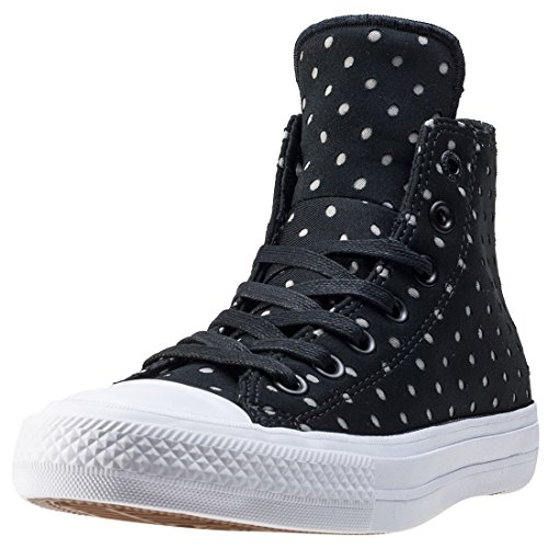Converse Dames Chuck Ii Shield Hi Top Synthetische Sneakers Zwart