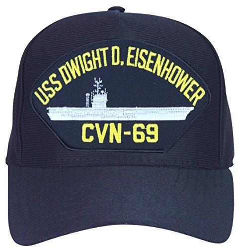 MilitaryBest USS Dwight D. Eisenhower CVN-69 Ships Ball Cap