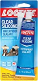 Loctite 908570-6 Clear Silicone Waterproof Sealant, 2.7 oz. Tubes (Case of 6)